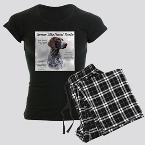 German Shorthaired Pointer Women's Dark Pajamas